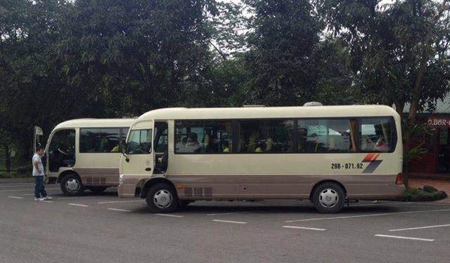Cho Thuê Xe 29 Chỗ Đi Bắc Giang Giá Rẻ Tại Hà Nội