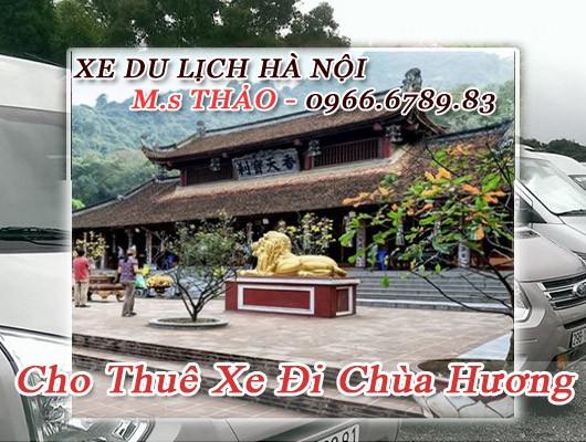 Thuê xe 16 chỗ đi chùa Hương giá rẻ tại Hà Nội