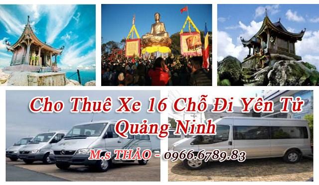 Cho Thuê Xe 16 Chỗ Đi Lễ Hội Yên Tử Giá Rẻ Tại Hà Nội