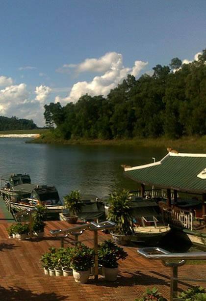 Khu du lịch sinh thái Đồng Mô - điểm đến tuyệt vời ở khu vực ngoại thành Hà Nội.
