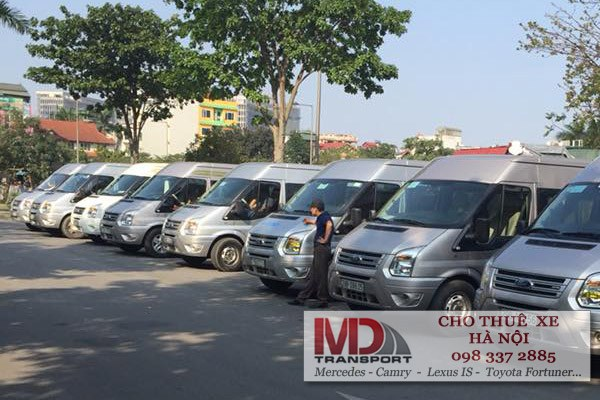 Chi phí thuê xe 16 chỗ chiều Hà Nội - Quảng Ninh
