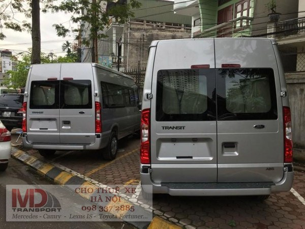 xe 16 cho ford transit