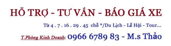 Báo Giá Tư Vấn Xe 29 Chỗ Đi Cửa Lò Tại Hà Nội