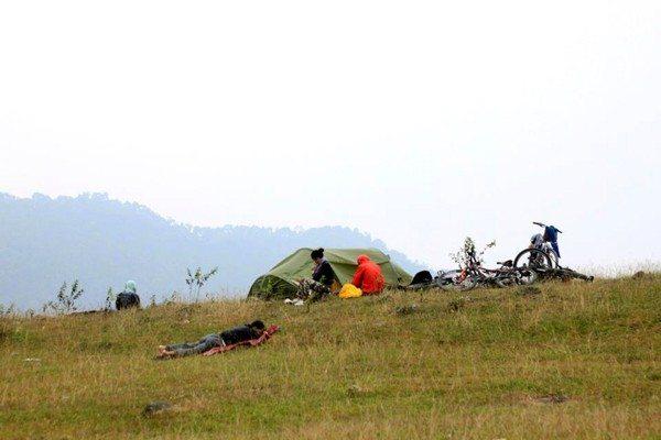 Cắm trại, picnic cuối tuần luôn được rất nhiều gia đình Hà Nội yêu thích
