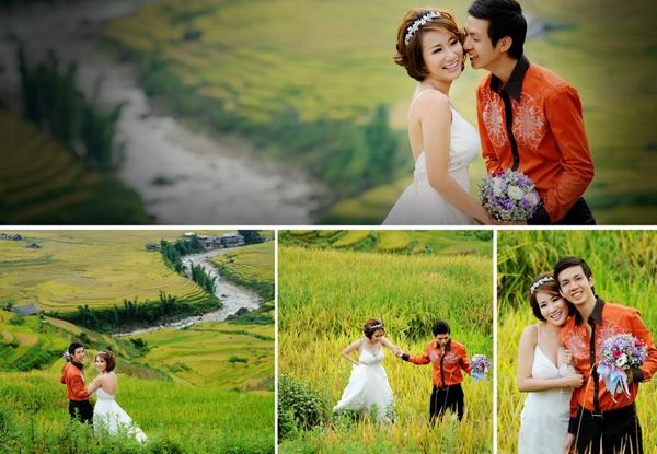 Lãng mạn trong ngày cưới, hạnh phúc với chuyến du lịch tuần trăng mật
