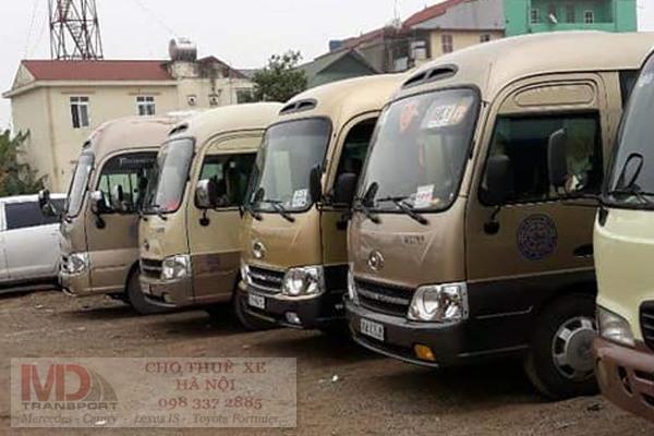Cho thuê xe 29 chỗ trọn gói tại Hà Nội