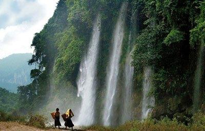 Cảnh Thác Tuyệt Đẹp Ở Thái Nguyên