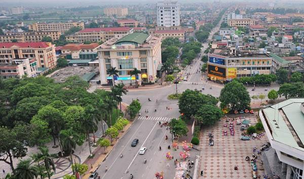 Hình ảnh thành phố Thái Bình. Ảnh sưu tầm