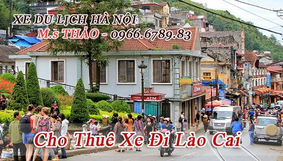 Dịch vụ cho thuê xe 16 chỗ đi Lào Cai giá rẻ tại Hà Nội