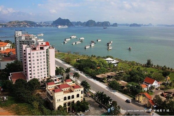 Phong cảnh thành phố Hạ Long