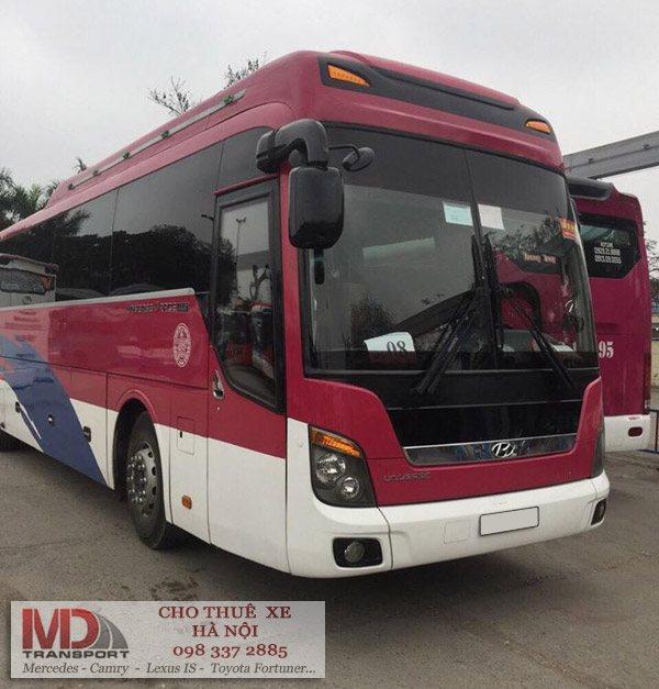 dịch vụ cho thuê xe du lịch 45 chỗ đi Lào Cai