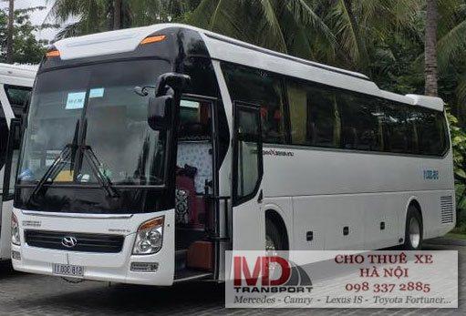 dịch vụ cho thuê xe 45 chỗ đi Đồng Mô của công ty Minh Đức