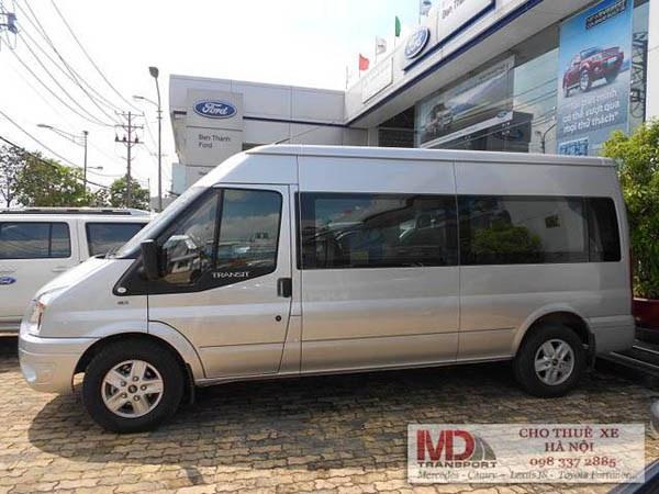 Dịch vụ cho thuê xe 16 chỗ đi du lịch Quảng Ninh giá rẻ tại Hà Nội