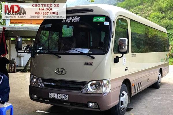 Cho thuê xe 29 chỗ đi Hà Giang giá rẻ tại Hà Nội
