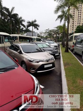 Cho thuê xe theo tháng đối với các công ty nước ngoài tại Hà Nội