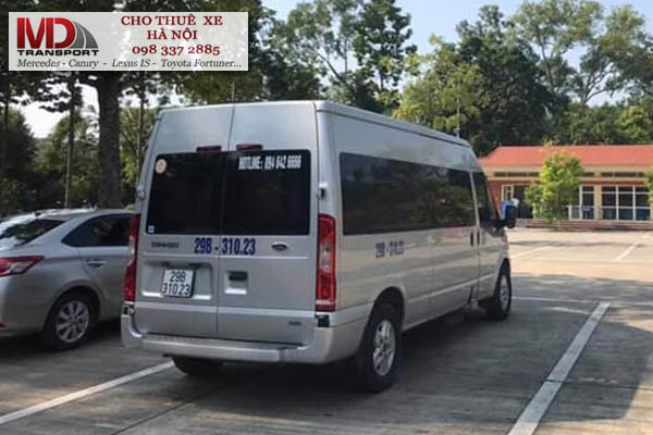Nên chọn địa chỉ nào cho thuê xe 16 chỗ tại quận Ba Đình?