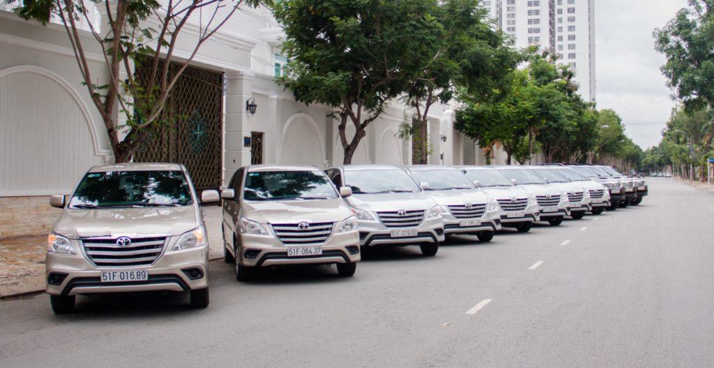 Dịch vụ thuê xe uy tín, chất lượng cao